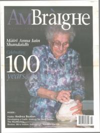 Am Bràighe, v. 10: no. 01 (2002:Summer)