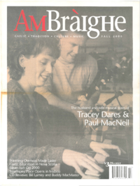 Am Bràighe, v. 08: no. 02 (2000:Fall)