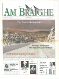 Am Bràighe, v. 03: no. 03 (1995:Winter)