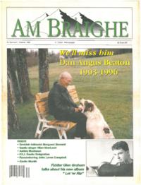 Am Bràighe, v. 04: no. 01 (1996:Summer)