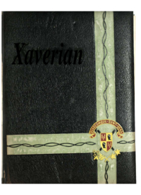 St. Francis Xavier University yearbook, 1963