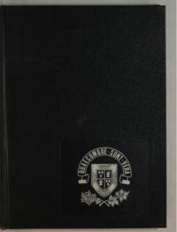 St. Francis Xavier University yearbook, 1972