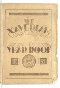 Xaverian Year Book, 1931