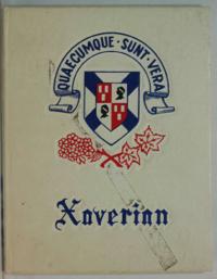 1962 Xaverian Annual