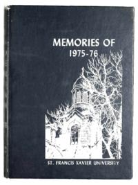 St. Francis Xavier University yearbook, 1976