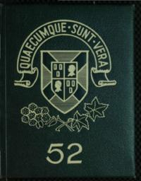 1952 St. F. X. Year Book