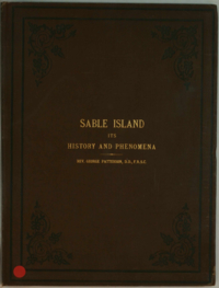 Sable Island, Its History and Phenomena