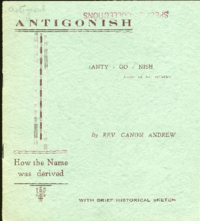 Antigonish : How the name was derived