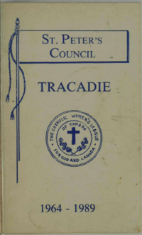 Remembering 25 : St. Peter's Council Tracadie