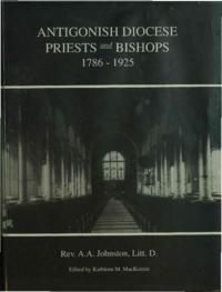 Antigonish Diocese priests and bishops, 1786 - 1925