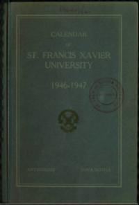 Calendar of St. Francis Xavier University, 1946-1947