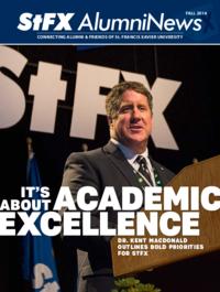 StFX Alumni News, 2014-12-21 (Fall)