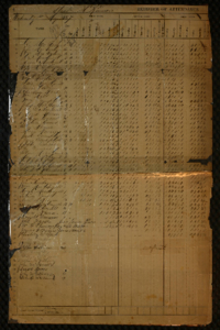 St. F. X. College Register of Attendance, May 1867