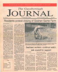 The Guysborough Journal, vol.01:no. 04 (1994, September 01)