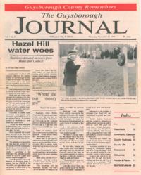 The Guysborough Journal, vol.01:no.06 (1994, November 17)