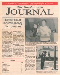 The Guysborough Journal, vol.01:no.07 (1994, December 15)