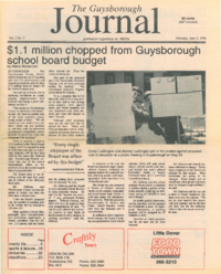 The Guysborough Journal, v.01:no.01 (1994:June 2)