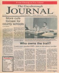 The Guysborough Journal, vol.01:no.09 (1995, February 16)