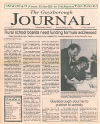 The Guysborough Journal, vol.01:no.10 (1995, March 16)