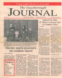 The Guysborough Journal, vol.01:no.11 (1995, April 20)