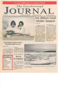 The Guysborough Journal, vol.01:no.12 (1995, May 18)