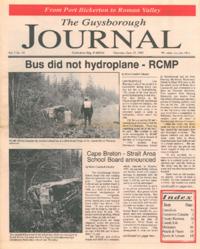 The Guysborough Journal, vol.01:no.14 (1995, June 15)