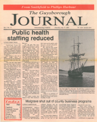 The Guysborough Journal, vol.01:no.17 (1995, July 27)