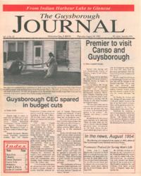 The Guysborough Journal, vol.01:no.18 (1995, August 10)