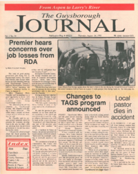The Guysborough Journal, vol.01:no.19 (1995, August 24)