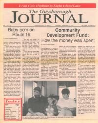 The Guysborough Journal, vol.01:no.20 (1995, September 7)
