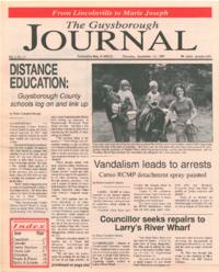 The Guysborough Journal, vol.01:no.21 (1995, September 21)