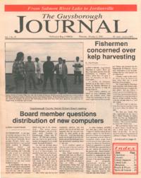 The Guysborough Journal, vol.01:no.22 (1995, October 5)