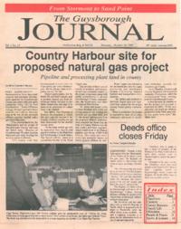The Guysborough Journal, vol.01:no.23 (1995, October 19)