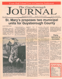 The Guysborough Journal, vol.01:no.25(1995, November 16)