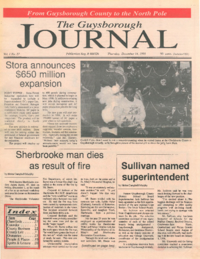 The Guysborough Journal, vol.01:no.27(1995, December 14)