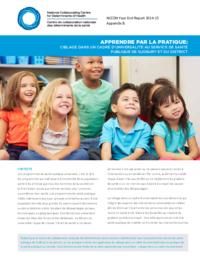 Apprendre par la pratique: ciblage dans un cadre d'universalité au Service de santé publique de Sudbury et du district
