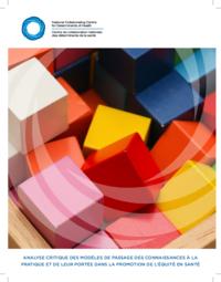 Analyse critique des modèles de passage des connaissances à la pratique et de leur portée dans la promotion de l'équité en santé